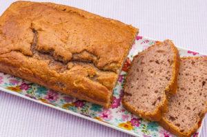 Photo de recette de gâteau matin facile rapide léger cassis de Kilomètre-0, blog de cuisine réalisée à partir de produits locaux et issus de circuits courts
