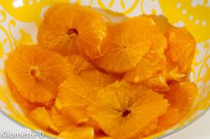 Photo de recette de salade d'oranges de Kilomètre-0, blog de cuisine réalisée à partir de produits locaux et issus de circuits courts