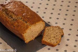 Photo de recette de gâteau du matin, marrons, cake, orange de Kilomètre-0, blog de cuisine réalisée à partir de produits locaux et issus de circuits courts