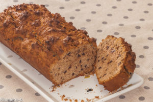 Photo de recette de cake, petit déeuner, énergétique de Kilomètre-0, blog de cuisine réalisée à partir de produits locaux et issus de circuits courts