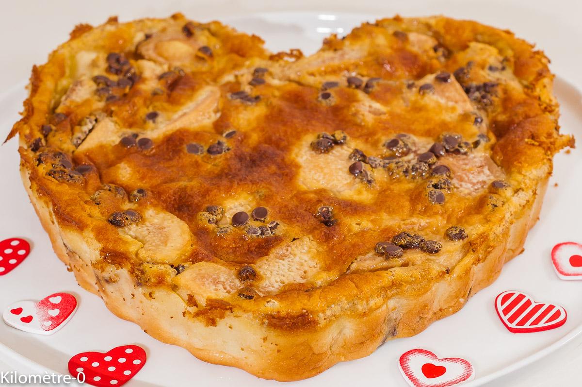Photo de recette de dessert, hiver, flan aux poires deKilomètre-0, blog de cuisine réalisée à partir de produits de saison et issus de circuits courts