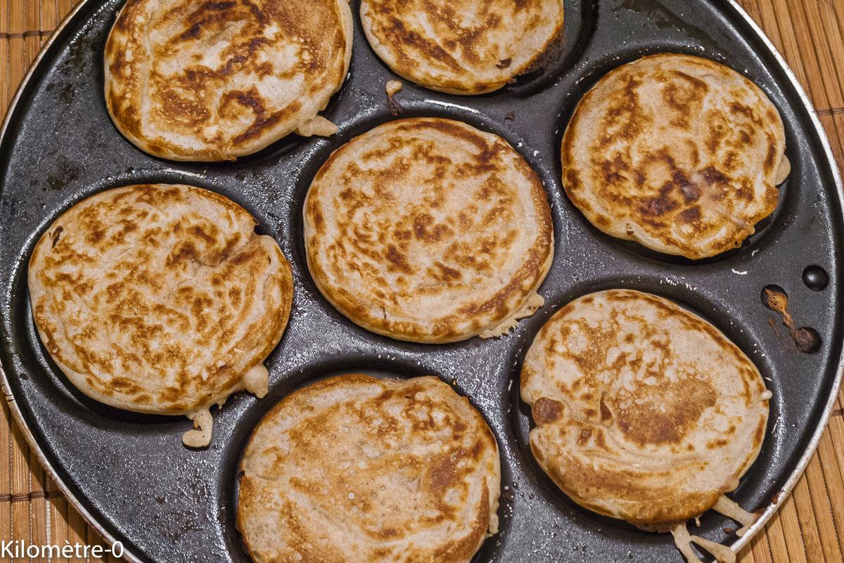 Photo de recette de blinay, blinis, recette Lituanienne; Lituanie, cuisine du monde, pain deKilomètre-0, blog de cuisine réalisée à partir de produits de saison et issus de circuits courts