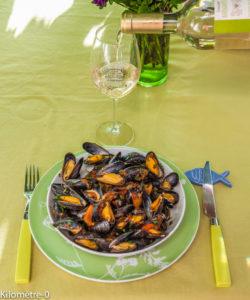 image de recette de moules à l'italienne, facile, rapide, léger de Kilomètre-0