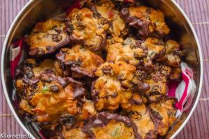 Photo de recette de Noël, facile, rapide, florentins de Kilomètre-0, blog de cuisine réalisée à partir de produits locaux et issus de circuits courts