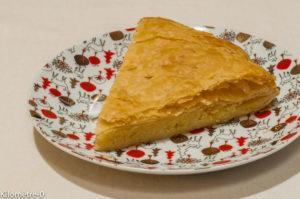 Photo de recette de galette des rois amandes de Kilomètre-0, blog de cuisine réalisée à partir de produits locaux et issus de circuits courts