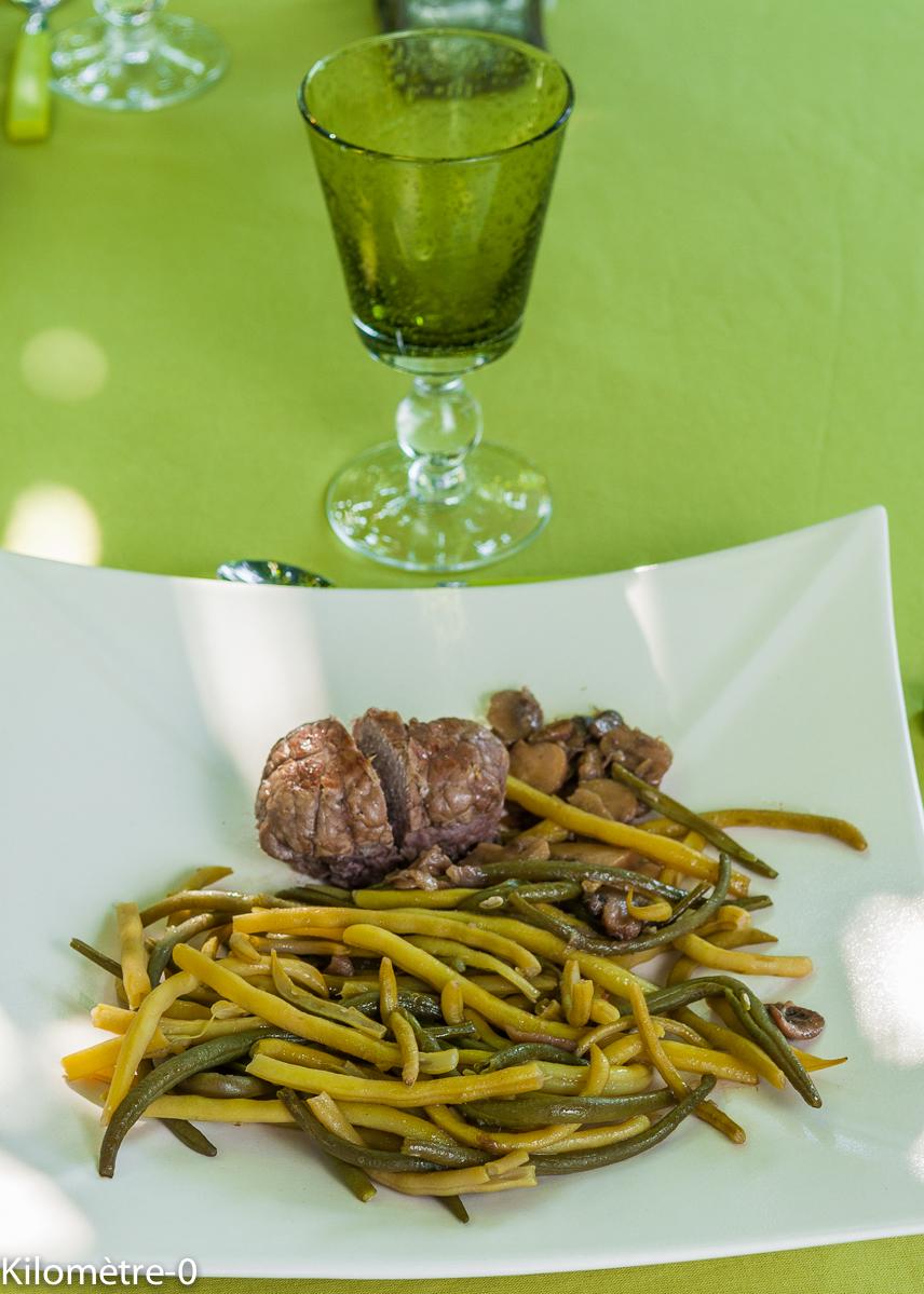 image de recette de paupiettes de veau aux champignons