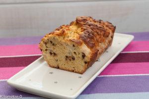 image de recette facile et rapide de cake choco poires bio de Kilomètre-0, légère, healthy
