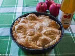 Image de recette de Tarte tatin aux pommes, facil, rapide, bio, Kilomètre-0,