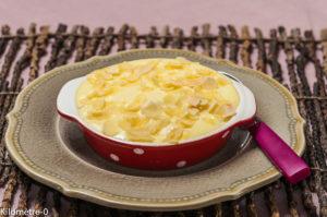 Image de recette de gratin de poires, facile, rapide, maison du blog Kilomètre-0