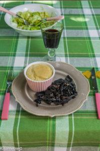 image de recette de soufflé au comté facile, champignons de Kilomètre-0, végétarienne,