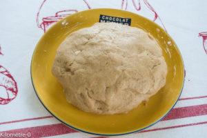Image de recette de pâte sucrée facile, légère, bio, maison, inratable de Kilomètre-0