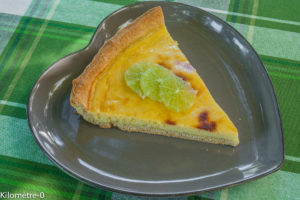 Image de recette de tarte facile, inratable, citron, ricotta, léger, healthy, bio, de Kilomètre-0