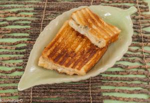 image de recette facile de Kilomère-0, circuit court, croque monsieur poire roquefort, fruit, fromage