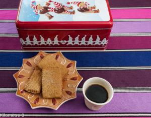 image de recette facile, rapide, légère, bio de spéculoos, cuisine belge, gâteau, biscuits de Kilomètre-0, cannelle