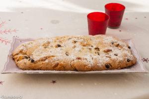 image de recette de stollen, recette allemande, lorraine, alsacienne, brioche, Noël, facile, gâteau tradtionnel