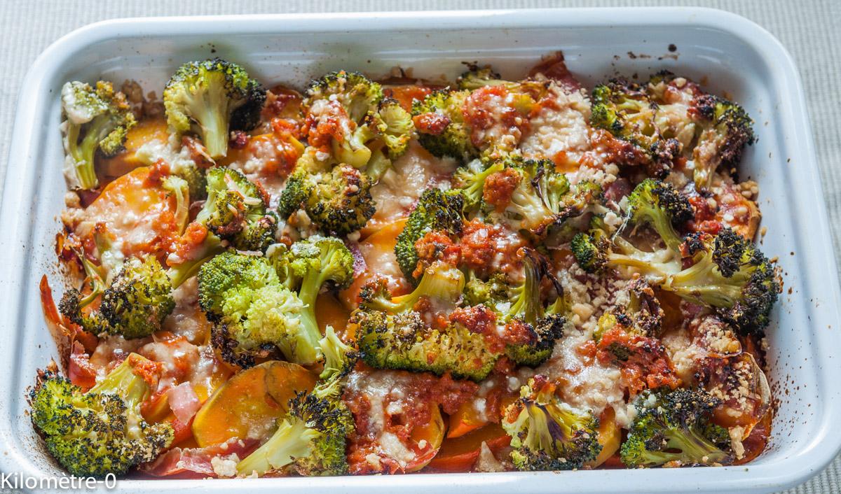 image de recette de  gratin de légumes de kilomètre-0, facile, healthy