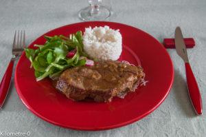 image de recette de échine de porc sauce soja, facile, rapide, légère de Kilomètre-0, circuit court