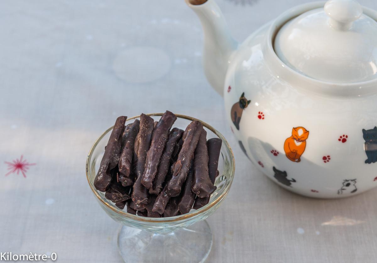 orangettes au chocolat, facile, rapide, maison de Kilomètre-0
