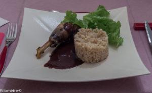 image de recette de pintade sauce chocolat, facile de Kilomètre-0