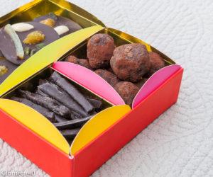 image de recettes de truffes au chocolat, facile, maison, rapide, Noël, bouchées, de Kilomètre-0