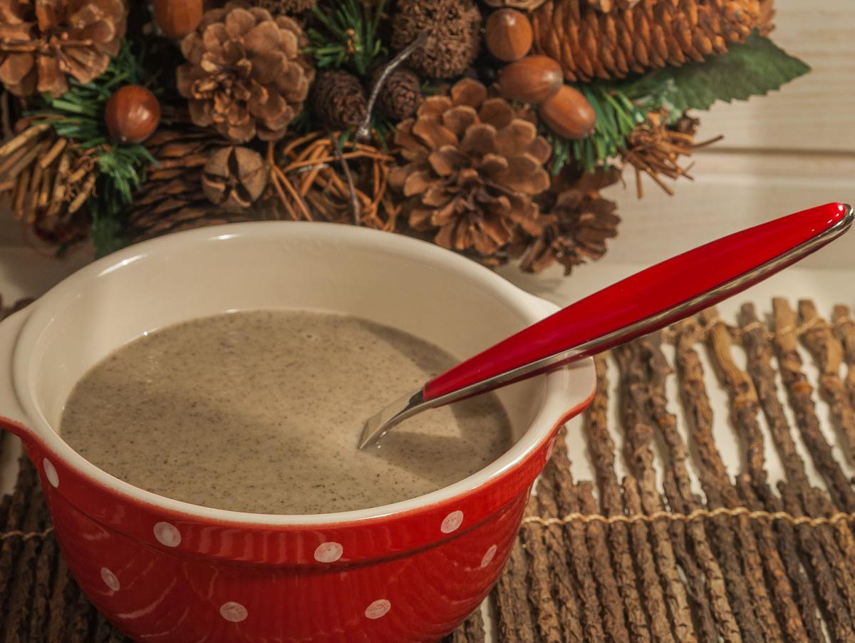 image de recette facile de Velouté de champignons, soupe, velouté, rapide, économique