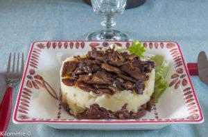 image de parmentier de canard aux cèpes facile de Kilomètre-0, blog de cuisine, circuits courts, produits de saison