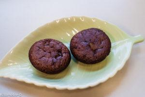 Photo de recette des muffins de Pauline de  Kilomètre-0, blog de cuisine réalisée à partir de produits locaux et issus de circuits courts