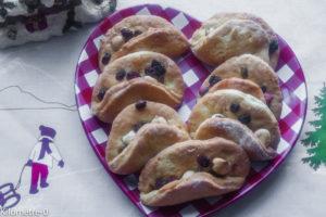 image de recette facile, rapide, bio, légère de Kilomètre-0 de mendiants en chausson, biscuits, gâteaux de Noël