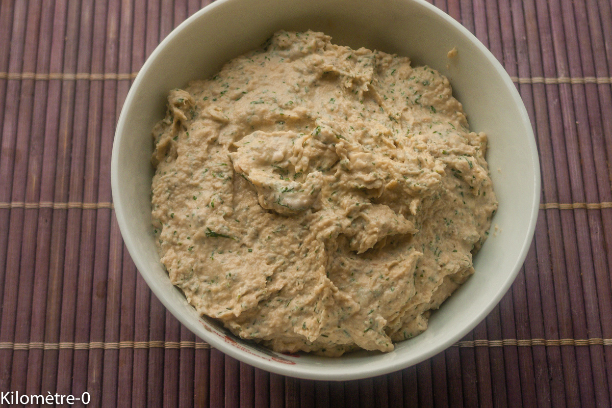 Photo de recette de mousse de saumon, légère, rapide, facile  de Kilomètre-0, blog de cuisine réalisée à partir de produits locaux et issus de circuits courts