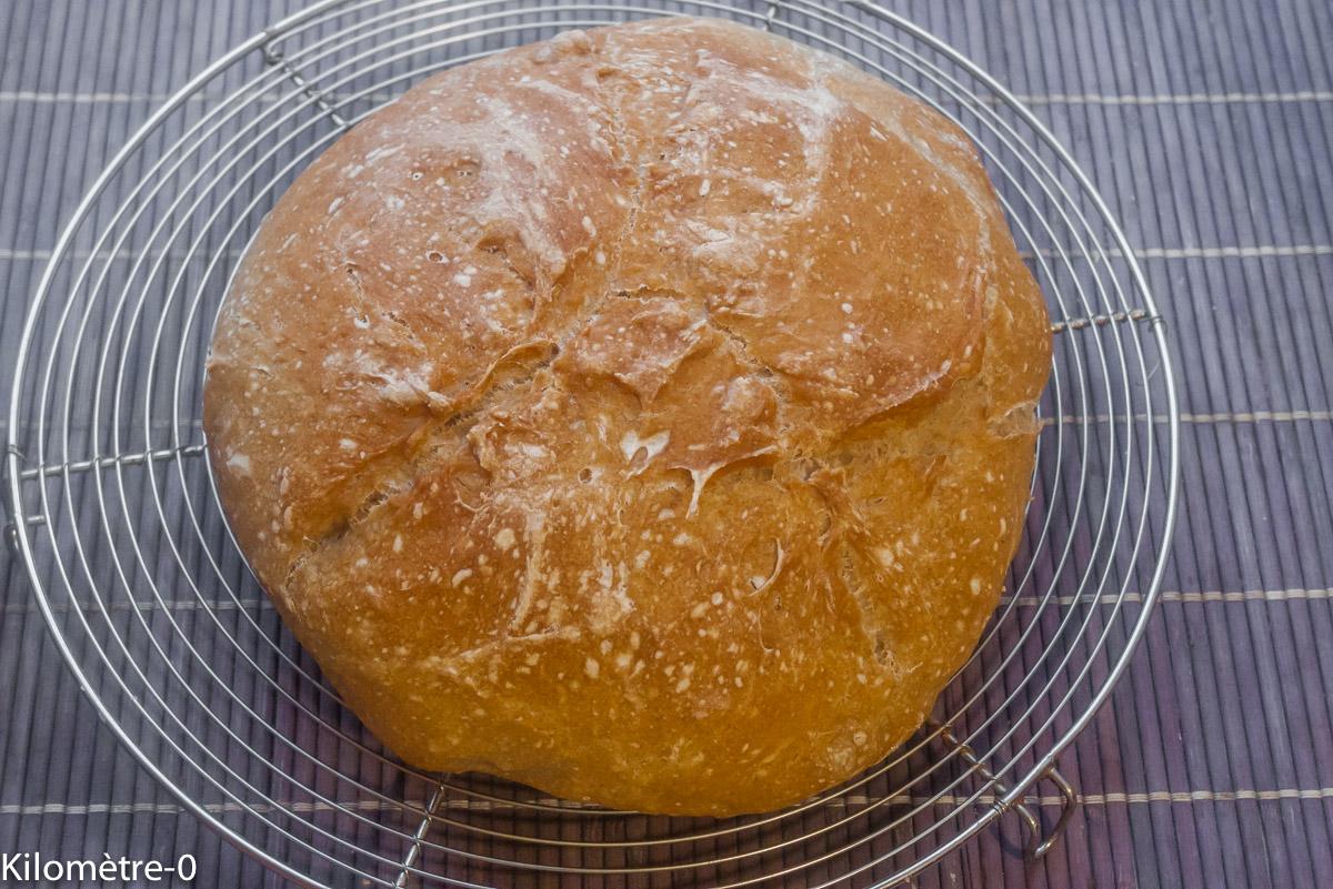 Photo de pain en cocotte recette de Kilomètre-0, blog de cuisine réalisée à partir de produits locaux et issus de circuits courts