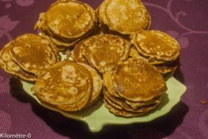 Photo de recette des blinis au sarrasin de Kilomètre-0, blog de cuisine réalisée à partir de produits locaux et issus de circuits courts
