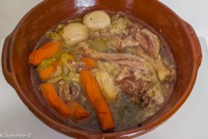 Photo de recette de potée de Kilomètre-0, canard, légumes, hiver de blog de cuisine réalisée à partir de produits locaux et issus de circuits courts