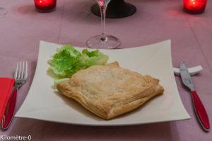 Photo de recette de  feuilleté facile au saumon de Kilomètre-0, blog de cuisine réalisée à partir de produits locaux et issus de circuits courts