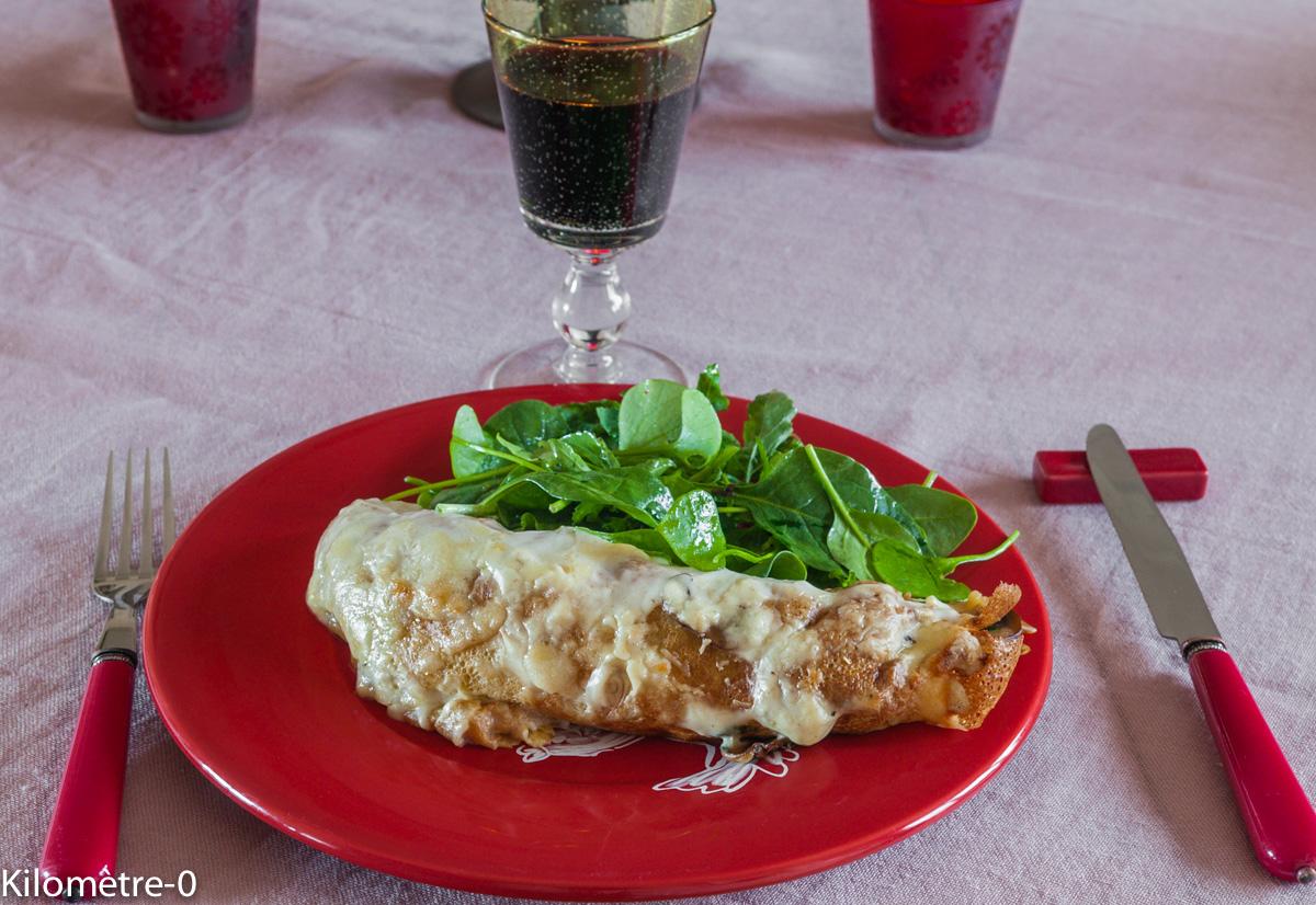 Photo de recette facile, rapide, bio de ficelle picarde de Kilomètre-0, blog de cuisine réalisée à partir de produits locaux et issus de circuits courts