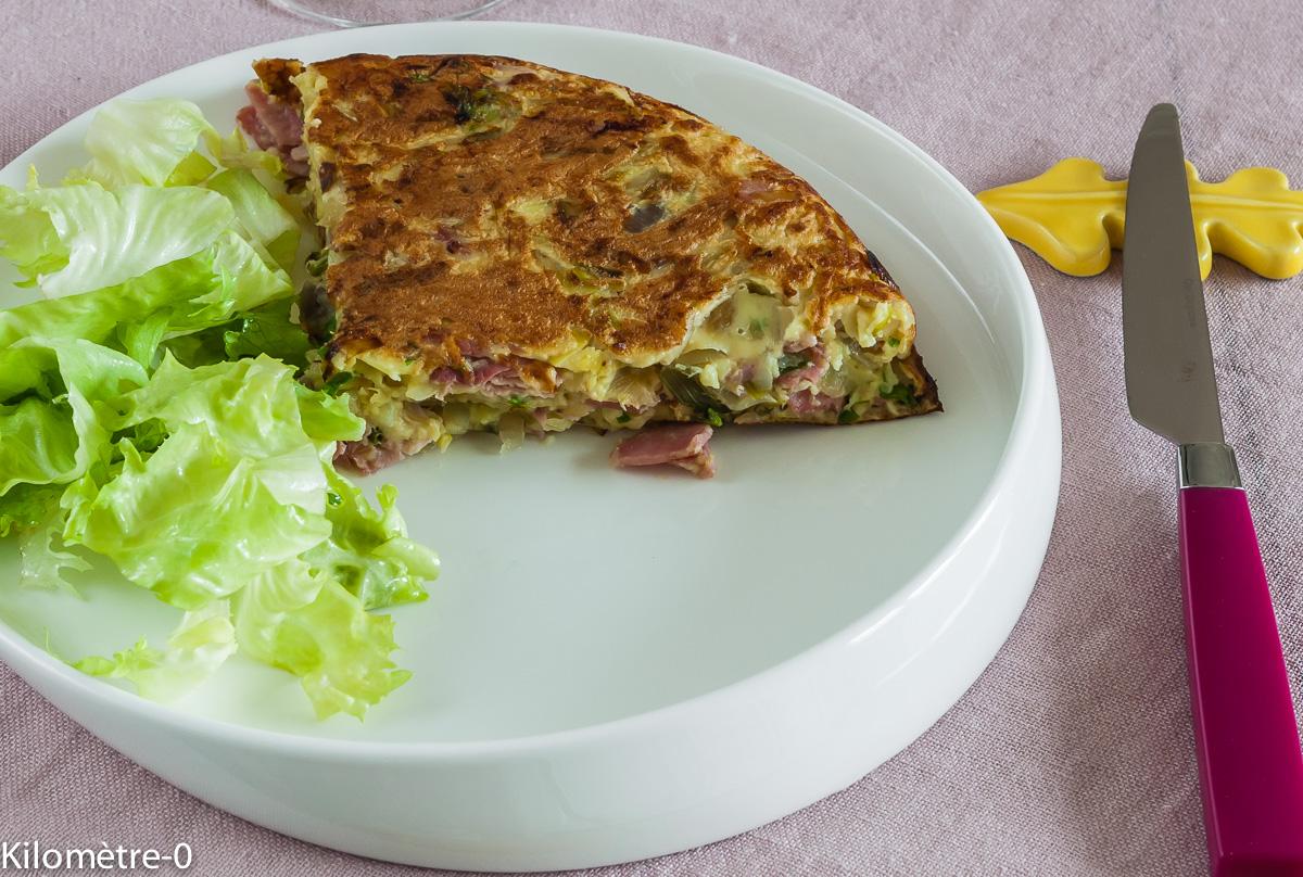Photo de recette de matefaim de Kilomètre-0, blog de cuisine réalisée à partir de produits locaux et issus de circuits courts