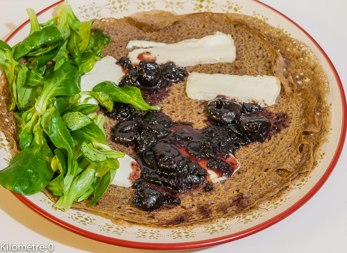Photo de recette de galette basque de Kilomètre-0, blog de cuisine réalisée à partir de produits locaux et issus de circuits courts
