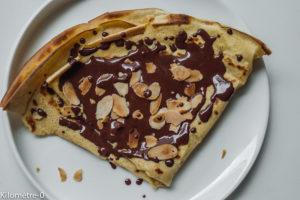 Photo de recette de crêpes de Kilomètre-0, blog de cuisine réalisée à partir de produits locaux et issus de circuits courts