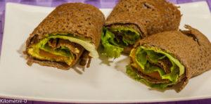 Photo de recette facile et rapide de galette truite avocat de Kilomètre-0, blog de cuisine réalisée à partir de produits locaux et issus de circuits courts