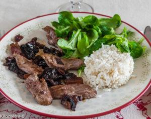 Photo de recette de magrets aux mendiants de Kilomètre-0, blog de cuisine réalisée à partir de produits locaux et issus de circuits courts