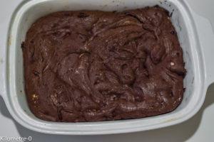 Photo de recette de brownies de Kilomètre-0, blog de cuisine réalisée à partir de produits locaux et issus de circuits courts