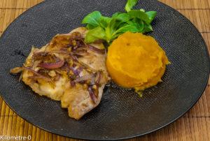 Photo de recette facile, rapide, légère de daurade de Kilomètre-0, blog de cuisine réalisée à partir de produits locaux et issus de circuits courts