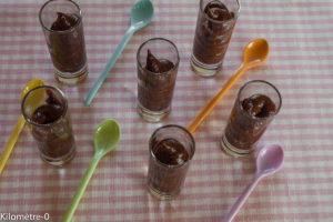 Photo de recette de dessert au chocolat de Kilomètre-0, blog de cuisine réalisée à partir de produits locaux et issus de circuits courts