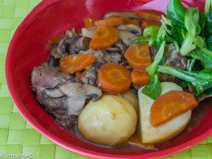 Photo de recette de joues de porc de Kilomètre-0, blog de cuisine réalisée à partir de produits locaux et issus de circuits courts