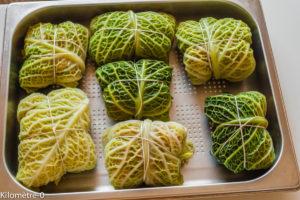 Photo de recette de pannequet au chou Kilomètre-0, blog de cuisine réalisée à partir de produits locaux et issus de circuits courts