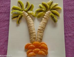 Photo de recette facile, rapide, légère, bio de kiwi, banane,mandarine de  Kilomètre-0, blog de cuisine réalisée à partir de produits locaux et issus de circuits courts
