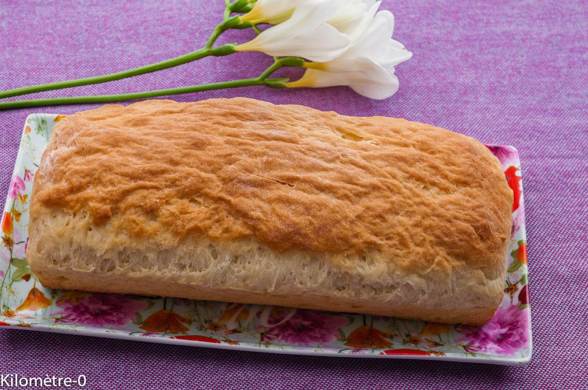 Photo de recette facile, rapide, légère, bio de pain au lait de  Kilomètre-0, blog de cuisine réalisée à partir de produits locaux et issus de circuits courts