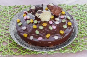 Photo de recette  légère, facile, rapide, bio, de gâteau de Pâques original enfant de Kilomètre-0, blog de cuisine réalisée à partir de produits locaux et issus de circuits courts