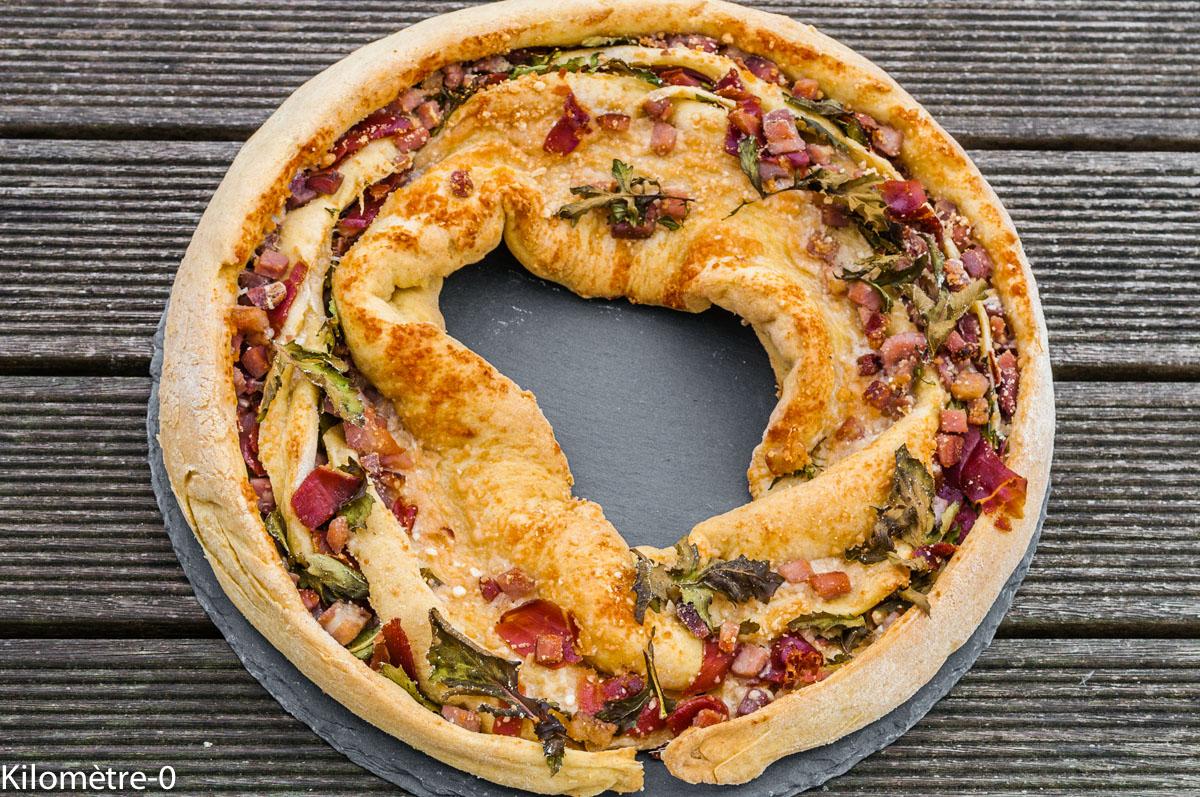 Photo de recette  facile, rapide, légère, recette italienne, pain, Italie, d'angelica salata de Kilomètre-0, blog de cuisine réalisée à partir de produits locaux et issus de circuits courts