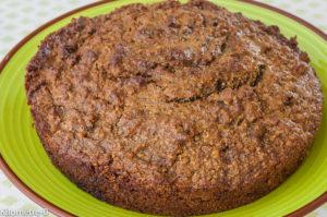 Photo de recette de gâteau hyper rapide à la noisette de  Kilomètre-0, blog de cuisine réalisée à partir de produits locaux et issus de circuits courts