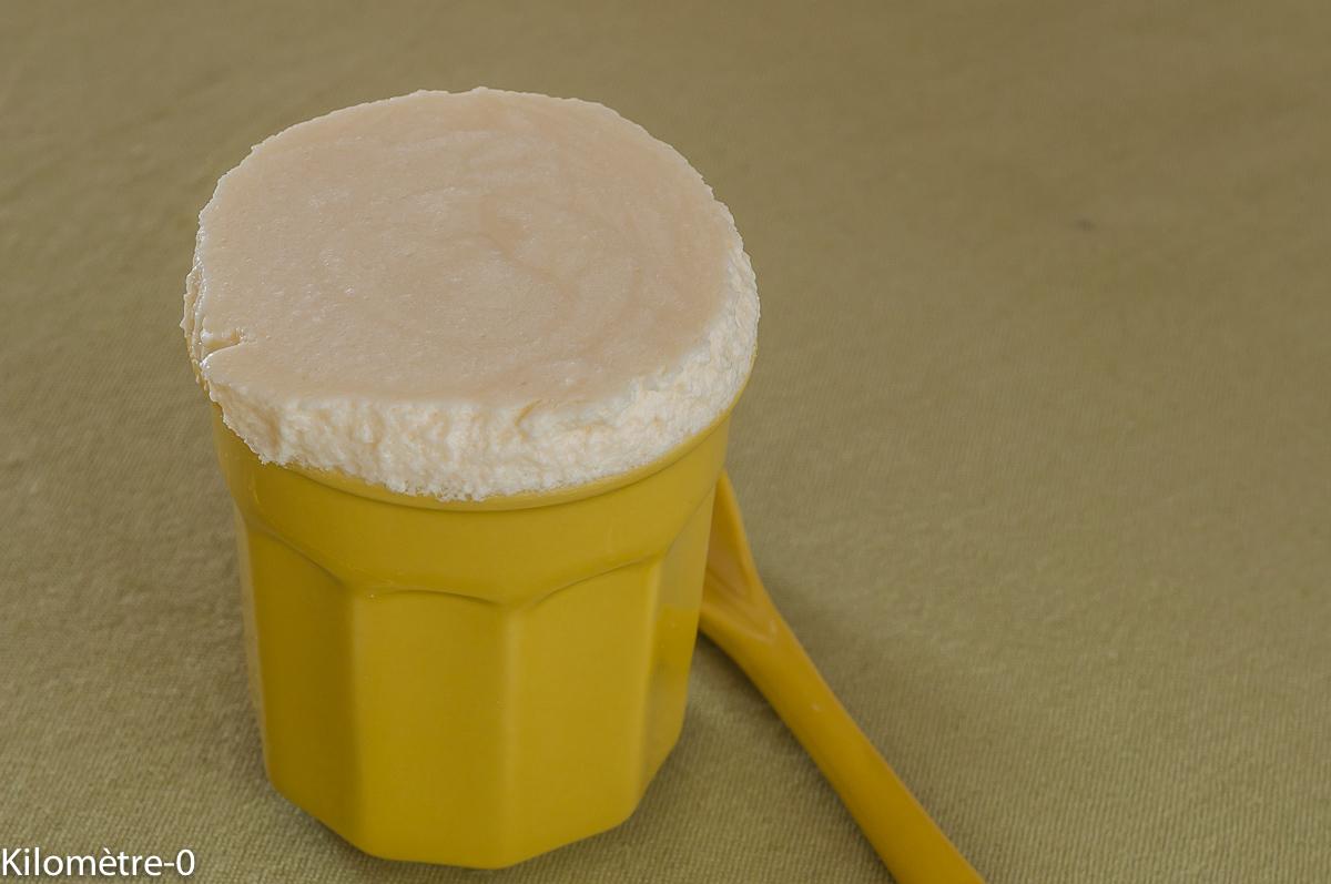 Photo de recette de mousse au limoncello de Kilomètre-0, blog de cuisine réalisée à partir de produits locaux et issus de circuits courts